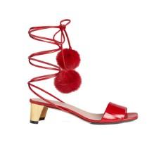 Sandales à Pompoms - Gucci