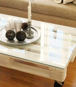 Table basse palette - design -teeps